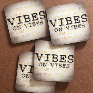 Vibes on Vibes Coasters